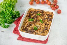 Gluteeniton jauheliha-makaronilaatikko Fried Rice, Fries, Paleo, Low Carb, Gluten Free, Dinner, Ethnic Recipes, Food, Lasagna