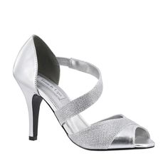 Bridal Shoes 105471: Silver Metallic Prom Bridesmaid Bridal 3 High Heel Wedding Peep Toe Shoe -> BUY IT NOW ONLY: $69.95 on eBay!