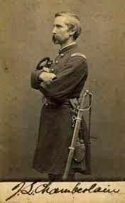 Joshua Chamberlain, hero of Little Round Top at Gettysburg