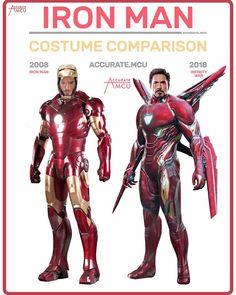 Iron Man armor evolves