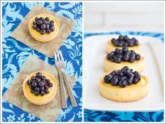 Berry Lovely: Lemon Blueberry Tartlets