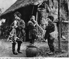 Ihei Kimura, 昭和9(1934)年11月凶作による飢餓で大根をかじる岩手の子供達