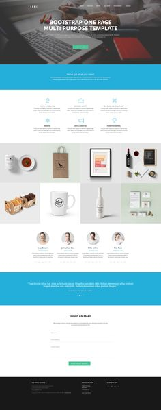 Lexis is an elegant free HTML5 Bootstrap One page website template. This template is ideal choice for digital agencies, small businesses or other creative people to showcase their work. Built on the latest HTML5 and CSS3 with Bootstrap 3 framework.