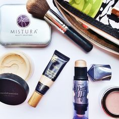 The F Bombs   What's in my makeup bag. Makeup.