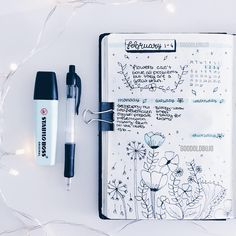 GOODOLDBUJO on Instagram this is my february weekly spread