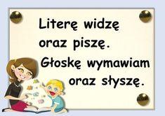 głoski - #głoski Kindergarten Math, Preschool, Learn Polish, Polish Language, Primary Teaching, Kids And Parenting, Activities For Kids, Teacher, Classroom