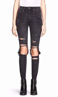 Ripped Jeans From H&M