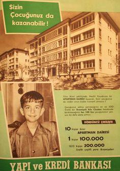 OĞUZ TOPOĞLU : yapı ve kredi bankası 1959 nostaljik eski reklamla...