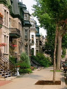 street of Montreal by DeeDeeBean Mont Royal Montreal, Montreal Ville, Montreal Quebec, Quebec City, Montreal Architecture, Great Places, Beautiful Places, Westminster, Voyager Loin