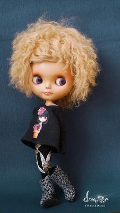 I'm really repinning this because I'm jealous of a doll's hair. :-)