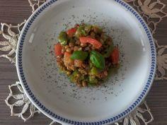 Insalata di lenticchie e peperoni | Biosilvi