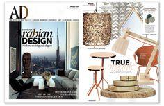 Ginger & Jagger | AD Middle East |  Highlights: Embrace Side Tables http://www.gingerandjagger.com/EN/collection/earth-to-earth/ #design #magazine #interiors #gingerandjagger #craftsmanship #nature #home #tables #organic #architecturaldigest