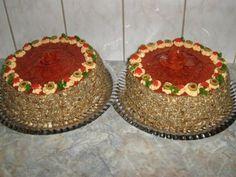 Pikantná slaná torta - fotopostup Lidl, Basket