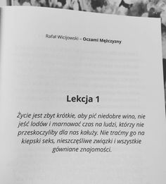 Oczami mężczyzny Single Women, Meaningful Words, Love Life, Motto, Are You Happy, It Hurts, Literature, Cards Against Humanity, Thoughts