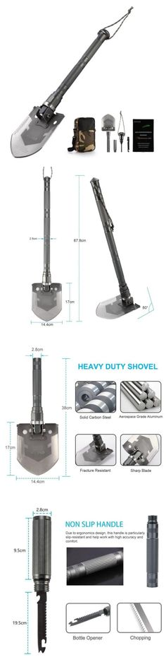 Camping Shovels 75233: Outad Military Folding Shovel Multitool Tactical Entrenching Tool For Snow... -> BUY IT NOW ONLY: $69.59 on eBay!