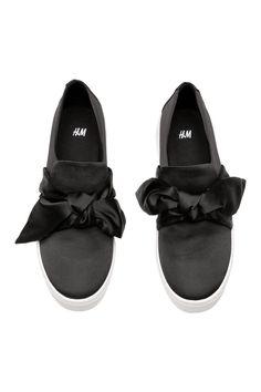 Pantofi sport fără șireturi - Negru - FEMEI   H&M RO 2
