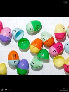 alphabet egg matching