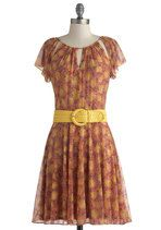 Coreopsis Attract Dress | Mod Retro Vintage Dresses | ModCloth.com
