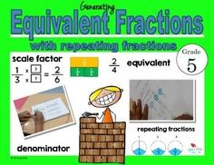 This product is intended to provide students with conceptual understanding of creating equivalent fractions and how the process is connected to the concept of multiplication and repeated addition.The product included:-lesson plans-interactive notebook insert- area model and fraction wheel blackline master- 1 worksheet for equivalent fraction and algorithm practice- word problems with read draw write