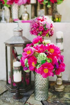 Stunning florals | Moroccan Styled Inspiration Shoot from Milou & Olin Photography and Anais Events  Read more - http://www.stylemepretty.com/california-weddings/2013/10/21/moroccan-styled-inspiration-shoot-from-milou-olin-photography-and-anais-events/