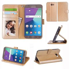 Galaxy J7 V / 2017 Prime Perx Sky Pro Halo Case, Samsung Galaxy Wallet  #Doesnotapply