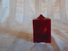 Cranberry Scented  Square Candle £3.20