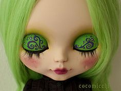 Mi nueva custom (begona69) Tags: blythe custom amarillys rbl cocomicchi
