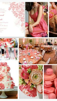 Coral Inspiration for wedding