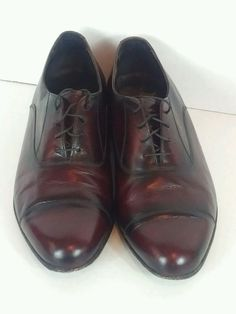 Mens FLS Florsheim Black Textured Leather Loafers Size 9M EUC!!