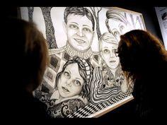 Udstilling på Trapholt om talent og kunst - YouTube