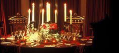 Luxury private dining rooms in Edinburgh - Prestonfield House Hotel