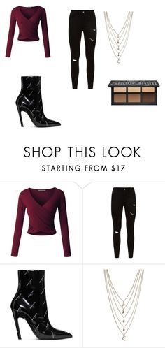 """Untitled #13"" by vanessa-blomerus on Polyvore featuring LE3NO, Balenciaga and Ettika"