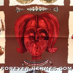 In our store http://forever-hermes.com #ForeverHermes is this new and stunning Hermes Paris silk scarf by Loic Dubigeon titled Persona featuring #handcarved #antique #ancient #African #Tribal #Mask collection of the world. Not only the #Africa lover can display this as #WallDecor next to their real #woodcraft #AfricanMask treasures from world #travel #dapper #gentleman #Ghana #Kenya #Namibia #MensSuit #MenStyle #MensWear #WomensWear #womensfashion #Tanzania #Hermes #HermesCarre #HermesParis