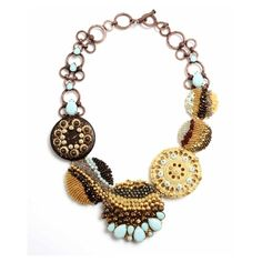 Short Assemblage Necklace | Miriam Haskell