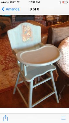 Make sure your vintage highchair is safe http://www.safebabyhighchairs.com/safety-checklist.html