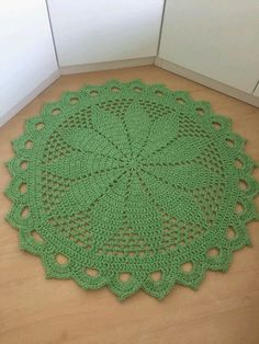 Vintage Handmade Crochet Doily Lace Lacy Doilies Wedding Decoration Home Decor Flower Romantic French Style Crocheted Pineapple Round Pink Crochet Doily Rug, Crochet Blocks, Crochet Round, Cotton Crochet, Crochet Home, Crochet Yarn, Round Shag Rug, Doily Wedding, Farmhouse Rugs