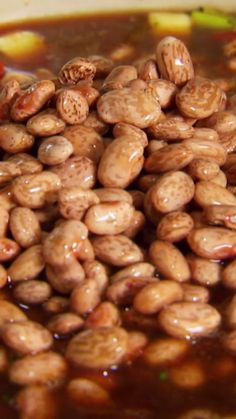 Damaris gives her take on a spicy pinto bean recipe from New Orleans.