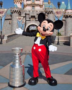 EPIC!!!!!! Mickey Mouse and Stanley!  Doesn't get much better than that!