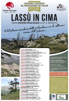 Calendario attività 2015 www.sentierimoranesi.com