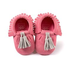 Baby Moccasins with Tassel