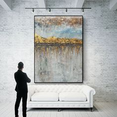Excited to share this item from my #etsy shop: Abstract painting, Large Wall art, original abstract painting, Modern Abstract , Beige Abstract Painting, Gold Painting, Texture Art SN170 Large Canvas Art, Abstract Canvas Art, Oil Painting On Canvas, Oversized Wall Art, Action Painting, Yellow Art, Extra Large Wall Art, Texture Art, Original Paintings