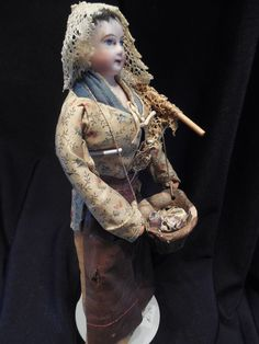 French Peddler Doll - Offered at Ruby Lane.