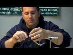 How to tie a Black and Chartreuse Pike Fly - YouTube