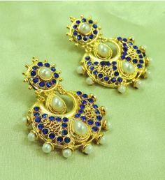 Jhumlas | Jhumkas & Earrings | Pinterest | Ear rings
