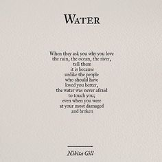 Ideas For Quotes Poetry Love Nikita Gill Poem Quotes, Words Quotes, Wise Words, Life Quotes, Sayings, Crush Quotes, Relationship Quotes, Qoutes, Pretty Words