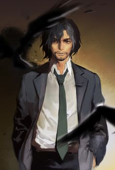 I was surprised with Shibazaki. He's cool, unpredictable and smart as hell! His instincts are on a very high level and just... he reminds me of L at some point xD Idk xd