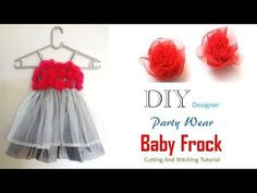 DIY Stylish Cute Baby Frock Cutting And Stitching Full Tutorial - YouTube