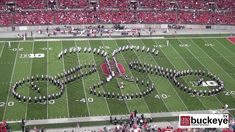 "Ohio State Marching Band ""Country And Western"" Themed Halftime Show vs W..."