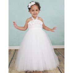 28.19$  Watch here - http://ali7jf.shopchina.info/go.php?t=32637899030 - White Angel Girls Dress Flower Headband Christenings Clothing Dress for Baby Girls  Flower Girl Dress for Wedding Party PT157 28.19$ #buyonline