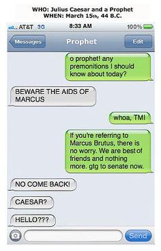 Julius Caesar Auto Correct Fail
